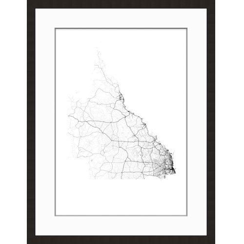 QLD Roads Map
